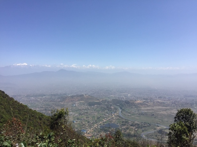 View from Champadevi top