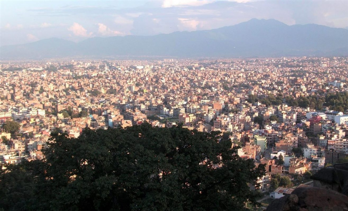 View from Monkey temple