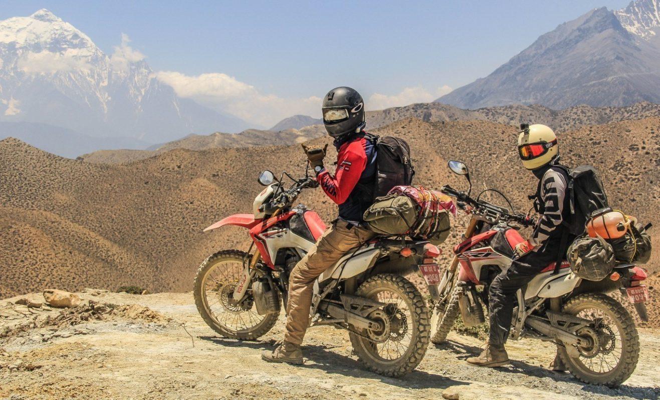 World Highest lake Motorbike Tour in Nepal