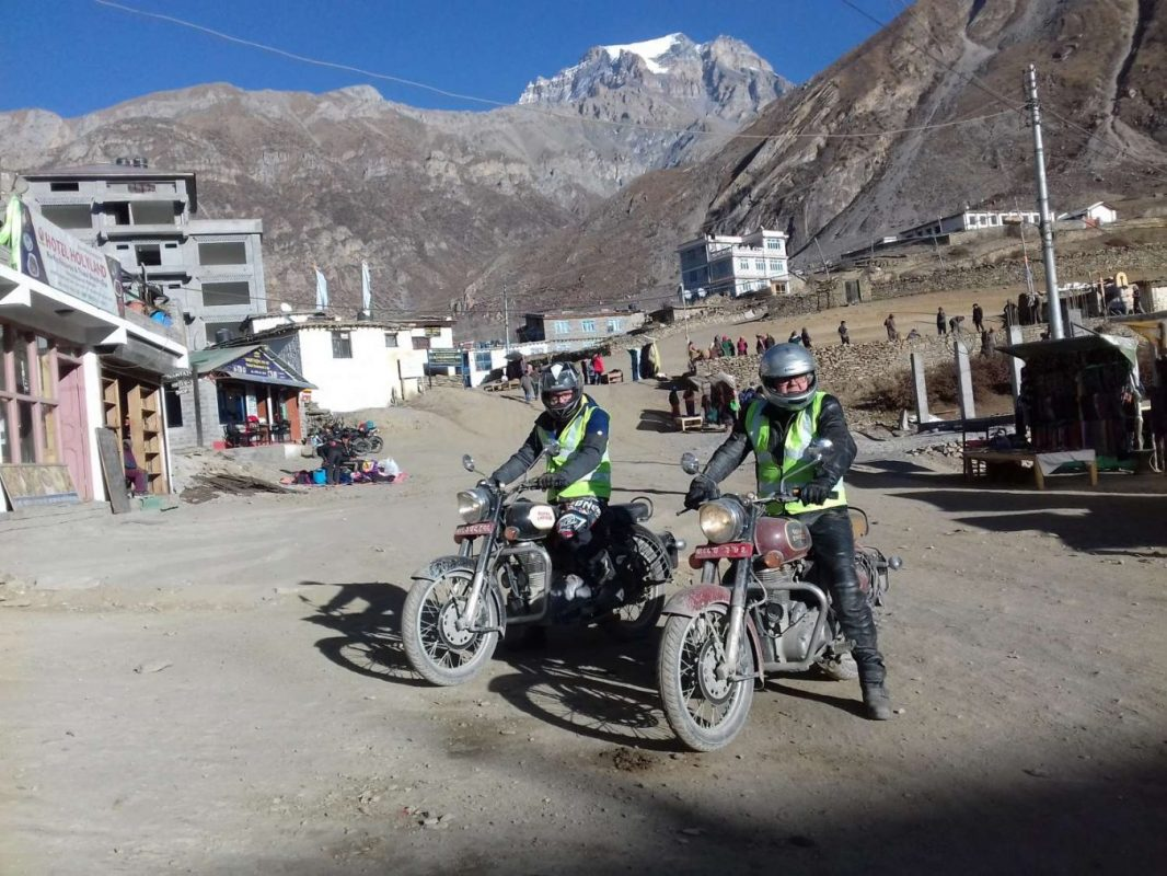 Royal Enfield Motorbike tour in Nepal